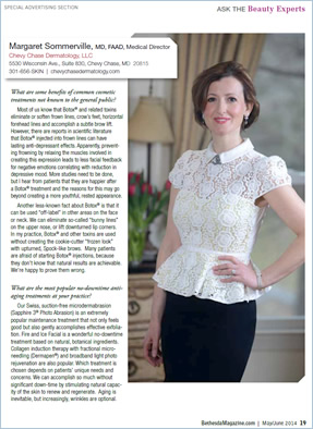 Margaret Sommerville Beauty Expert Article